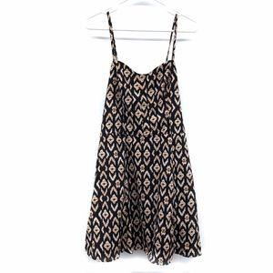 Jessica Simpson Black Printed Porter Sundress